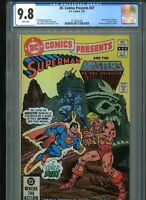 1982 DC Comics Presents #47 CGC 9.8 1st He-Man Masters of the Universe FREE SHIP