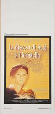 LOCANDINA, LA DISCESA DI ACLA' A FLORISTELLA, AURELIO GRIMALDI, TONY SPERANDEO