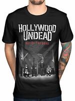 Hollywood Undead Day of the Dead Black Cotton Adult Top T-Shirt Tee