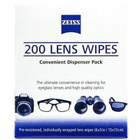 Zeiss Optical Lens Cleaning Wipes Glasses Phone Screen Camera 50,100,200,400 BN