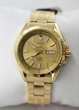 Seiko 5 Sports Gold Tone Automatic Men's Watch SRP160K1