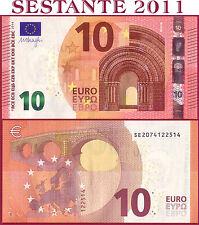 "(com) EUROPEAN UNION  ITALY 10 EURO 2014 Sign DRAGHI  ""SE""  S003B2 - P 21s - UNC"
