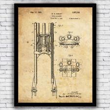 Harley Davidson Springer Suspension Triple Tree Patent - Size and Frame Options