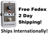 New Electro-Harmonix EHX Mole Bass Booster Guitar Effects Pedal! (The Mole)
