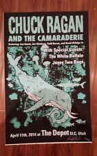 CHUCK RAGAN AND THE CAMARADERIE * Tour Poster Screenprint 2014 * HOT WATER MUSIC
