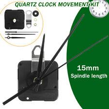 Quarz-Uhrwerk Wand Uhrwerk  3 Zeigersätzen Funkuhr Ersatz Wanduhren Quarzuhr