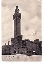 PARK AVE 71ST REG ARMORY, REBUILT AFTER FIRE IN 1904 NOW  NORMAN THOMAS H.S. NYC