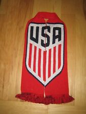 Ruffneck Scarves USA Member Soccer Scarf Red White Blue Flag Shield