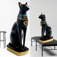 Egyptian Goddess Bastet Cats Collectible Figurine Statue Home Decor Surprise