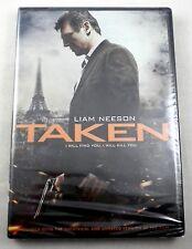 TAKEN - DVD - Liam Neeson - NEW In Shrinkwrap - Sealed