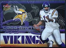 NFL 4 of 22 Daunte Culpepper Minnesota Vikings Fleer Ultra 2002