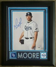 2304e6382d7 Matt Moore Signed Autographed 8x10 Tampa Bay Rays Framed 11x14 PSA DNA
