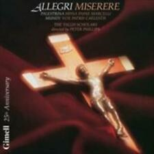 The TallisScholars: Allegri Miserere CD