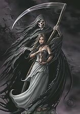 Anne Stokes Summon The Reaper large fabric poster / flag 1100mm x 750mm (hr)