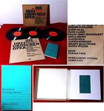 3LP Box Dreigroschenoper - Gesamtaufnahme - James Last (Polydor) 1968
