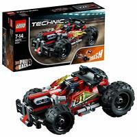 LEGO 42073 Technic High Speed Bash 2-IN-1 Race Car Model Advanced Building Set