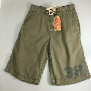Z Brand Mens 29 Green Khaki Cotton Shorts NEW