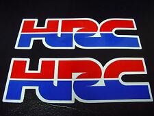 HRC Sticker Decal CBR NSR 600 900 954 1000 Blackbird Fireblade Hornet Parts x2