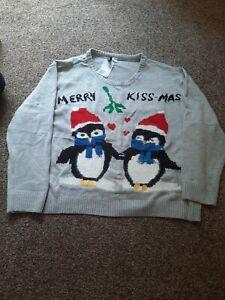 Ladies Christmas Jumper Size 3XL
