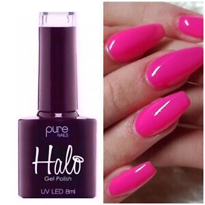 Halo Gel Polish - Neon Coral  LED/UV 8ml