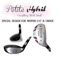 Petite Hybrid #6 iDrive 28° Graphite Ladies Flex Small Short Womens Iron Wood