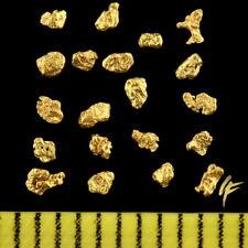 TOP-Geschenk ! 20 Echte Gold-Nuggets Alaska 20-23 Karat Schmuck Münze Barren