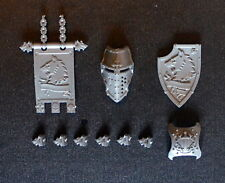 WARHAMMER 40k, Cavaliere Imperiale, maestra, CANIS REX, Timone, Banner e punte