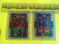 Lionel Messi & Cristiano RONALDO In the Clutch 2017-18 Panini Select Soccer