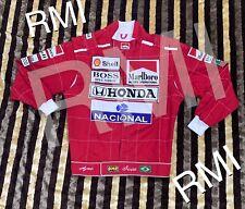 F1 Ayrton senna Embroidery Patches Jacket Go Kart/karting Race Racing