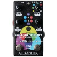 Alexander Pedals Colour Theory Spectrum Sequencer Guitar Effects Pedal w/ MIDI