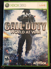 Call of Duty: World at War (Microsoft Xbox 360, 2008) COMPLETE MAIL TOMORROW