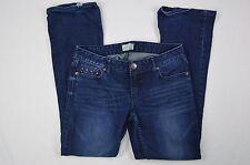 Aeropostale Chelsea Bootcut Curvy Denim Blue Jeans size 5/6 Short (31x20)