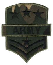 ag28 Army Abzeichen Camouflage Aufnäher Bügelbild Patch Applikation 6,5 x 8,0 cm
