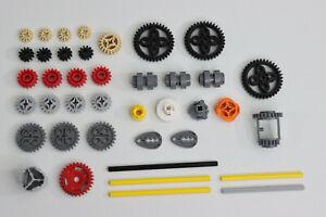 LEGO® Technic 40 Piece Bevel Differential Gear Clutch Axle Set