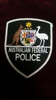 OBSOLETE  AUSTRALIAN FEDERAL POLICE  SINGLE SHOULDER PATCH (P)