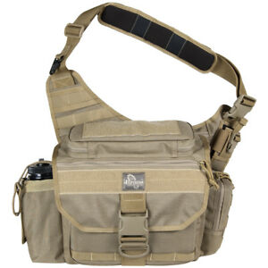 Maxpedition Mongo Versipack Ccw Messenger Shoulder Bag Everyday Carry Pack Khaki