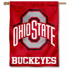Ohio State Buckeyes Athletic Logo House Banner Flag