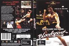 Jean-Claude Van Damme Bloodsport Region 4 DVD VGC