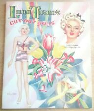 LANA TURNER cut-out dolls - 2nd edition 2007 paper studio press - un-used ░░ D8