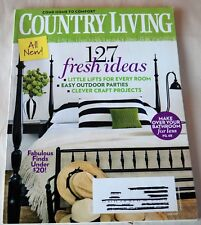 Country Living Magazine June 2009 127 Fresh Ideas Easy Outdoor Parties