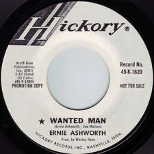 ERNIE ASHWORTH Wanted Man ((**NEW 45 DJ**)) from 1971