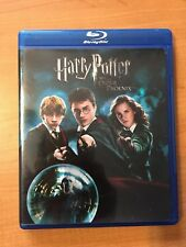 Harry Potter and the Order of the Phoenix (Blu-ray, 2007) With Metallic Cover