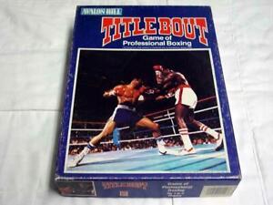 Avalon Hill : TITLEBOUT - Pro Boxing Game - Ali Louis + 90-91 Card Set (UNPUNCH)