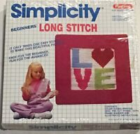 Simplicity Beginners' Long Stitch New Vintage