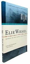 Elie Wiesel - Night - SIGNED on Bookplate - 2006 Paperback Edition - Nobel Prize