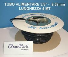 """Tubo 3/8"""" 9,5 mm Alimentare Certificato JG Depuratori Osmosi Purificatore Acqua"""