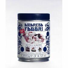 Fabbri Amarena in latta da 1 250 kg Frutto e Sciroppo Gluten