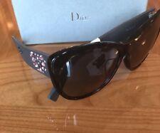 1ea588f74472c NWT Christian Dior Crystal Inedite F BOJEU Havana Brown Matte Sunglasses in  Box