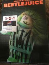 Lego Lenticular Cover Beetlejuice Gremlins DVD Walmart Limited