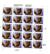 2982 Louis Armstrong  Mint Not Hinged  Gum Sheet of 20 Stamps .32